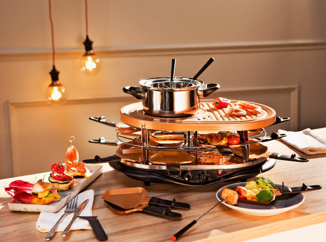 Raclette Fondue Kombigerät » Foundue set